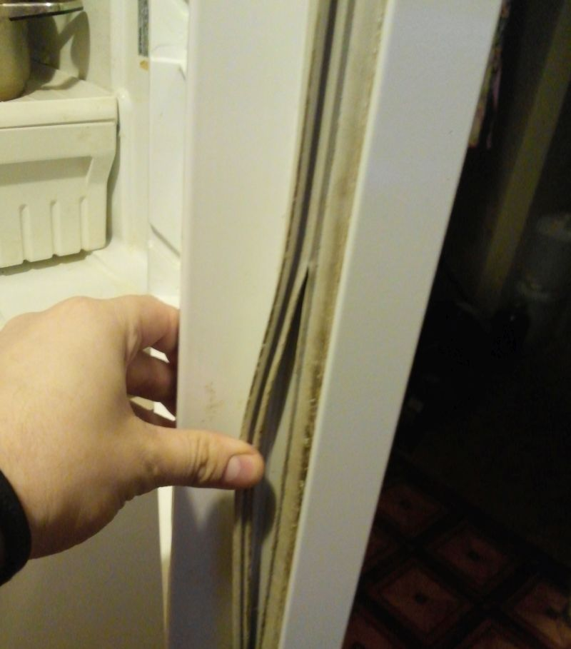 Замена уплотнительной на холодильнике стинол 82